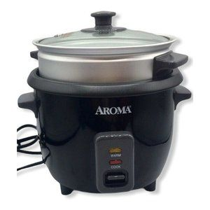 Aroma Housewares ARC-363-1NGB 6-Cup Rice Cooker